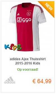 Kids thuis shirt