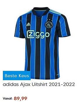 Ajax uitshirt 2021-2022